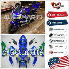 Front Rear Brake Pads For Honda CBR600F4 CBR600F4i Super Sport 600 2001-2006