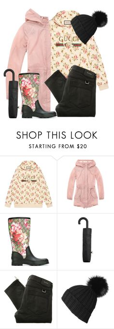 """showers bring flowers"" by scheherazadianjihadian ❤ liked on Polyvore featuring Gucci, Marc New York, MANGO, Belstaff and Black"