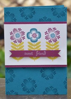 A Stampin' Up! Madison Avenue, Scrapbook Templates, Vintage Vogue, Stampin Up Cards, Handmade Cards, Manhattan, Stamping, Card Ideas, Give It To Me