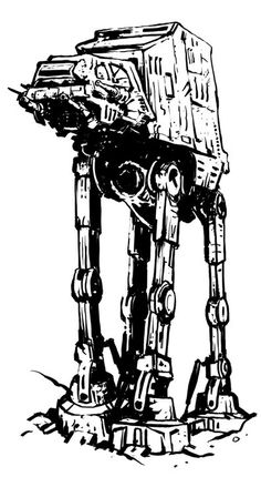 AT-AT tattoo by ~TimKelly on deviantART