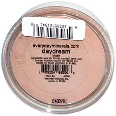 Everyday Minerals, Cheek Blush, Daydream, .17 oz (4.8 g) - iHerb.com (ru)