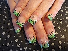 Green-y by dcgroves - Nail Art Gallery nailartgallery.nailsmag.com by Nails Magazine www.nailsmag.com #nailart