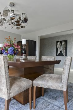 Dining room www. Dining Bench, Dining Room, House Made, Eclectic Style, Diva, Interior Design, Detail, Chic, Modern