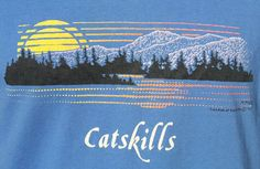 1989 Catskills I think I had a t-shirt similar to this. Mine was probably from Lake George.