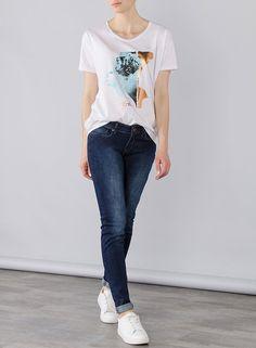 Tienda online | Moda mujer y hombre Jeans Denim Nicky Skinny medium waist - tiro medio de Tiffosi Tienda online | Moda mujer y hombre