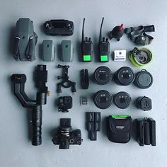 Light and versatile video gear setup by @austin ahlborg 🎥Tag a filmmaker🎬 #camera #gear #a7sii #sony #canon #zeiss #lens #flatlay #flatlays #videoshoot #videography #equipment