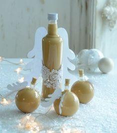 Potěšte své přátele jedlým dárkem, který sami s láskou připravíte Christmas Candy, Christmas Cookies, Christmas Time, Xmas, Czech Desserts, Irish Cream, Baileys, Healthy Drinks, Cocktail Recipes