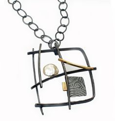 NK87 Graffiti Necklace - Sydney Lynch Jewelry
