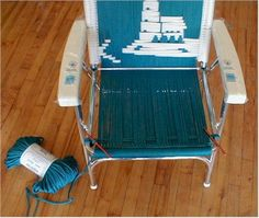 http://www.kingskountry.com/how-to-make-a-macrame-lawn-chair.html