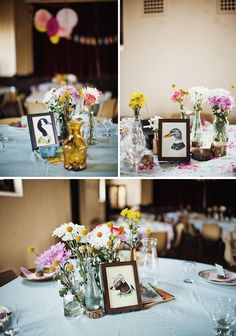 love this--must do (plus spray painted animal favors!)
