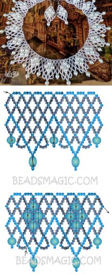 Free pattern for necklace | Beads Magic