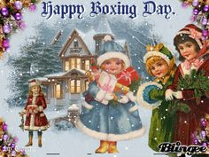 Boxing Day animations | Boxing Day greetings and blessings… | Guinevere Fae