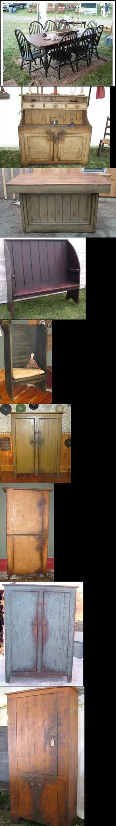 Stuffer's Antiques & Reproductions, great primitive furniture.