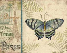 Vintage Wings-paris-m by Jean Plout