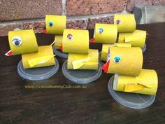 DIY CRAFT ** Toilet paper rolls ** 6 six little ducks went out to play.... #xmas_present #Black_Friday #Cyber_Monday