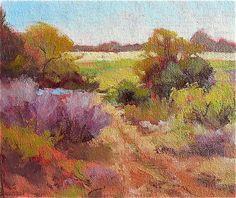 """Oil on canvas, """"Hope Field,"""" by Yvone Ankerman, Fine Art America."""