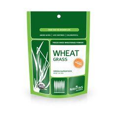 Navitas Naturals Organic Wheatgrass Powder, 1-Ounce Pouches - http://goodvibeorganics.com/navitas-naturals-organic-wheatgrass-powder-1-ounce-pouches/