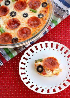 Hot Pizza Dip