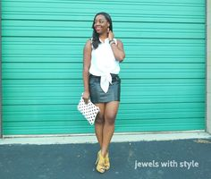 Jewels with Style: Summertime Leather