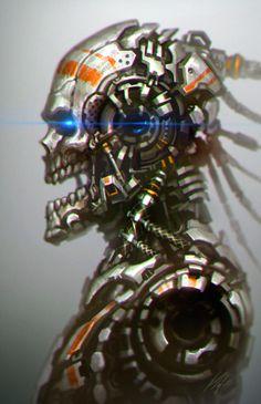 Machine Head by ArtDoge on DeviantArt