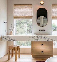 Bathroom Inspiration, Interior Design Inspiration, Design Ideas, Laundry In Bathroom, Master Bathroom, Interior Architecture, Interior And Exterior, Hamptons House, Interior Stylist