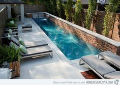 Delicieux Swimming Pool Designs Small Yards Of Good Great Small Swimming Pools Ideas  Home Collection