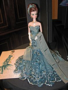 Artist Creations Party 7 by think_pink1265, via Flickr- what a stunning dress!