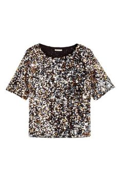 Sequined blouse | H&M