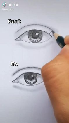 Art Drawings Beautiful, Art Drawings Sketches Simple, Pencil Art Drawings, Realistic Drawings, Drawing Tips, Easy Drawings, How To Draw Realistic, Eye Drawing Tutorials, Learn Drawing