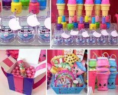 Shopkins Party Ideas pertaining to Party - Birthday Ideas Make it Shopkins Part. Shopkins Party Ideas pertaining to Party – Birthday Ideas Make it Shopkins Party Ideas pertainin Birthday Box, Tea Party Birthday, Toy Story Birthday, 1st Birthday Girls, Birthday Ideas, Shopkins Bday, Shopkins Cake, Cocoa Party, Candy Stations