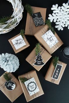 Christmas labels to print – Christmas gift tags - NOEL Noel Christmas, Christmas Gift Wrapping, Christmas Gift Tags, Winter Christmas, Christmas Presents, Holiday Gifts, Christmas Crafts, Christmas Decorations, Etsy Christmas