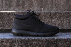 """Nike Roshe Run Trail """"Blackout""""... and the search continues for the perfect black hi top"""