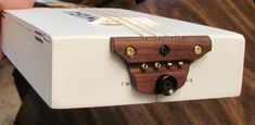 "Another ""White Knight"" Cohiba Cigar Box Guitar"