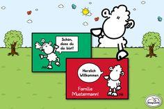 Leg los und gestalte jetzt Deine persönliche sheepworld Matte!  http://sheepworld.de/shop/Personalisierte-Fussmatten/