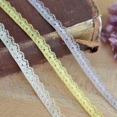Soft polyester fabric lace DIY accessories clothing ingredients 1cm wide