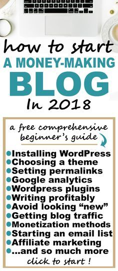 This free course on how to start a blog and make money is AWESOME - she started making 5k/month in under a year, and she shows you how step by step. AMAZING blogging tips for beginners!