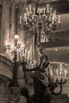 Paris bedroom decor/chandelier of the Opera Garnier photography/Paris…