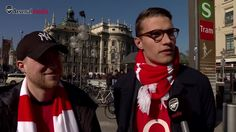 """When Mesut Özil plays well, Arsenal play well""  Fans have travelled from far and wide to support us against FC Bayern München - take a look and let us know who you agree with..."