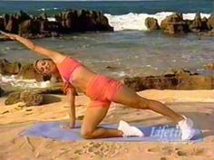 Denise Austin Daily Workout 13: Interval Training Abs and Waistline Workout 30 mins.