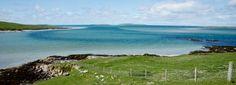 Beach, Isle of Uist by Andrea Kuehnis