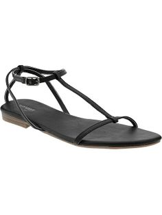 Women's T-Strap Sandals | Old Navy