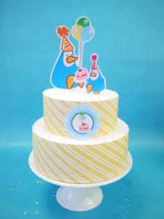 Penguin Birthday Party Cake