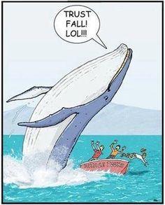 Trust fall! @Jess Pearl Pearl Pearl Perot