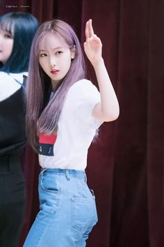 Pink Ash Hair, South Korean Girls, Korean Girl Groups, Sinb Gfriend, Kim Ye Won, Jung Eun Bi, Code Black, G Friend, Music Photo