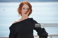 Roxane Duran 'Riviera' photocall during the MIP TV 2017 on April 2, 2017 in Cannes, France.