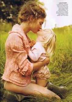 mommy daughter sesh