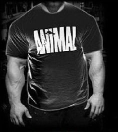 2017 New Arrival Gyms Stringer T shirt Men Bodybuilding and Fitness Men's Singlets Animal Gyms T-Shirts Sporting Clothes