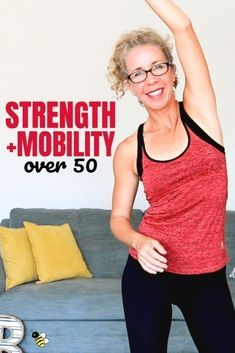 Join me for a super FUNCTIONAL workout that will improve your STRENGTH and MOBILITY in just 25 minutes. This lower intensity barefoot routine is functional fitness for women over 50 at its finest…More Functional Workouts, Easy Workouts, At Home Workouts, Fitness Tips For Men, Health And Fitness Tips, Fitness Plan, Gym Fitness, Fitness Style, Fitness Humor