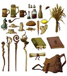 How to provide a sample of props ~ - # . - How to provide a sample of props ~ ANIMATION – # animation - Prop Design, Game Design, Harry Potter Plakat, Illustration Mode, Fantasy Inspiration, Writing Inspiration, Fantasy Weapons, Fantasy Characters, D D Characters