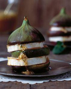 Feigen mit Ziegenkäse und Honig - Feigen: aromatisch & vielseitig - [LIVING AT HOME]